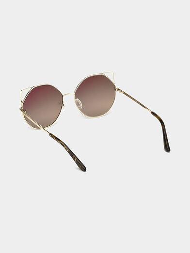 Gold color sunglasses - 3