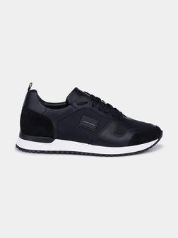 Черни спортни обувки - 1