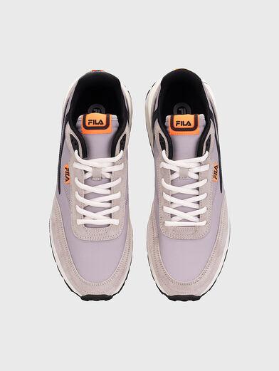 Black sneakers REGGIO - 6