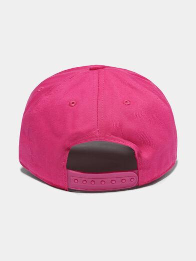 Baseball cap in fuxia color - 2