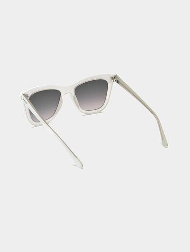 White sunglasses - 3