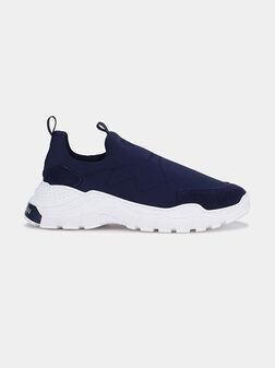 Blue sneakers - 1