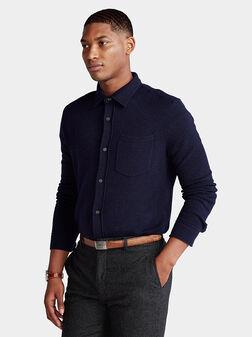 Merino wool shirt - 1