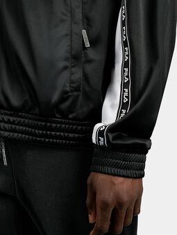 HACHIRO Track jacket in black - 4