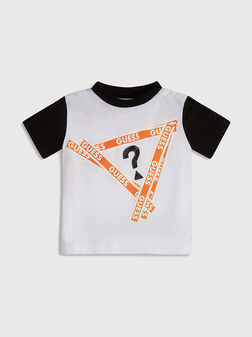Тениска в контрастни цветове - 1