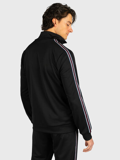 SALIH Track jacket in black - 3
