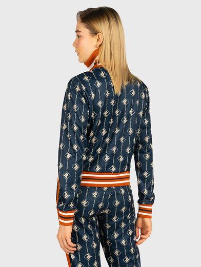 HAMO Sweatshirt with contrasting monogram print - 3