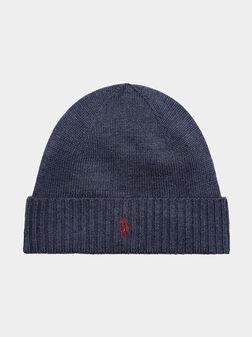 Merino wool hat - 1