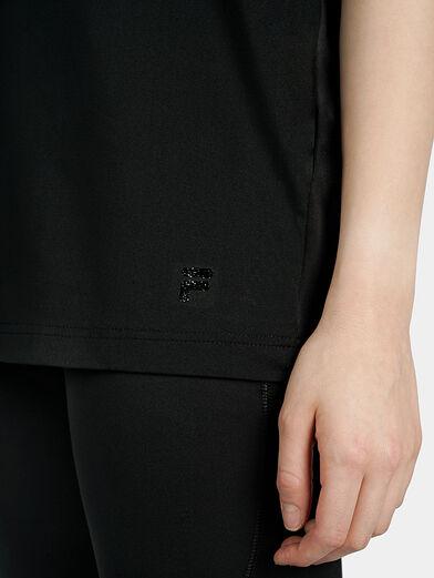 FAYE Black logo T-shirt - 3