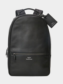Leather backpack - 1