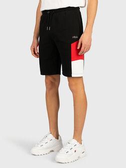 Черни къси панталони JUDA - 1