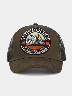Baseball hat with attractive patch - 1