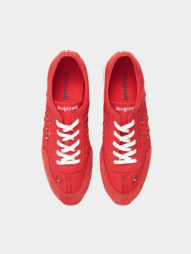 Embroidered sneakers  - 5