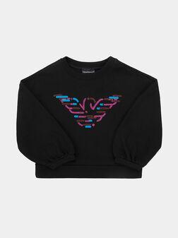 Sweatshirt with decorative elements - 1
