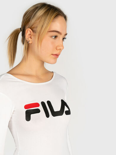 YULIA Cotton body with maxi logo - 2