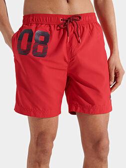 Плажни шорти с лого - 1