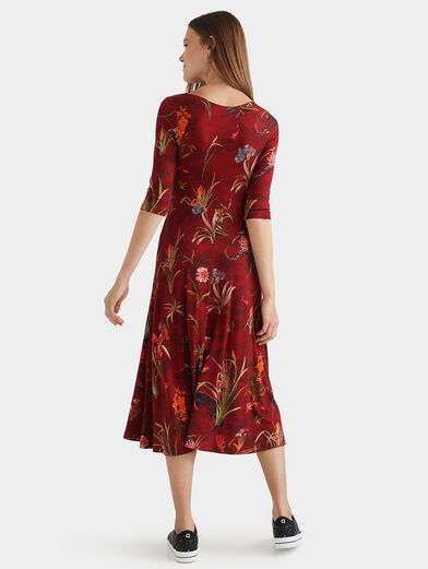 FLOWERS Dress with floral motifs - 2