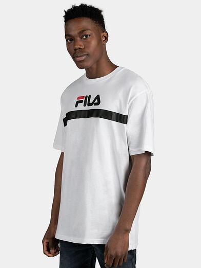 ANATOLI Black T-shirt with back maxi logo - 1