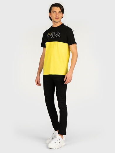 JOPI T-shirt in accentuating color - 4