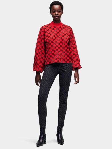 Monogram sweater - 1