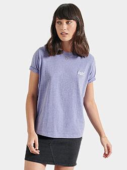 Лилава тениска ORANGE LABEL - 1