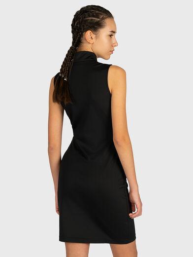 CEARA Dress with a zip neckline - 2