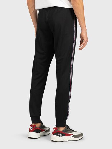 SALIH Track pants in black - 2