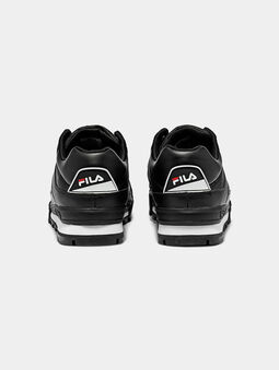 TRAILBLAZER L Black sneakers with chunky sole - 4