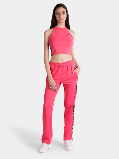 MELODY Pink cropped top - 2