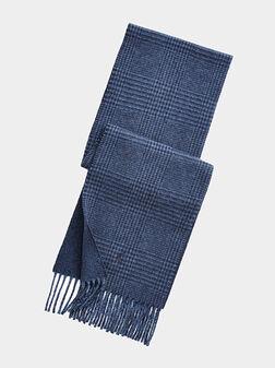 Navy scarf - 1