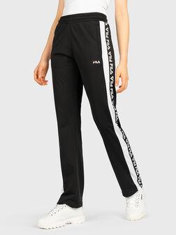 Спортен панталон с лого брандинг TAO - 1