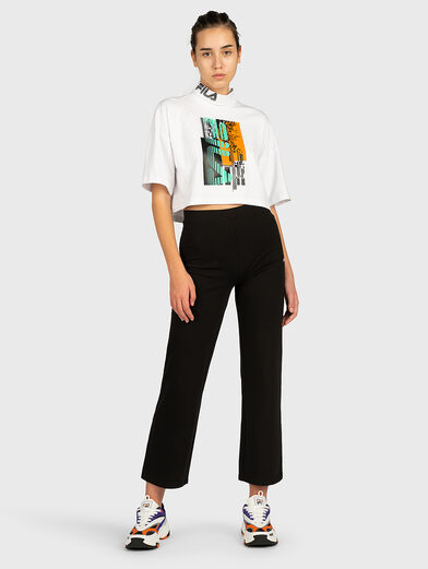 ABRIL Cropped tee - 4