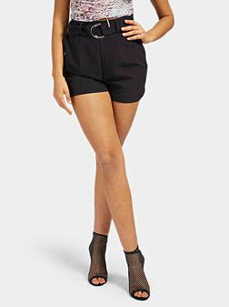 SUZY Shorts in black color - 1