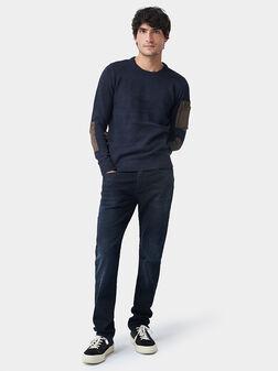 Пуловер с декоративни елементи - 1