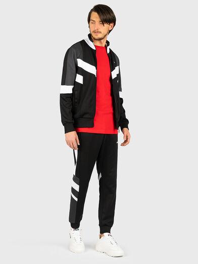 BATSON Sweatshirt with contrasting inserts - 4