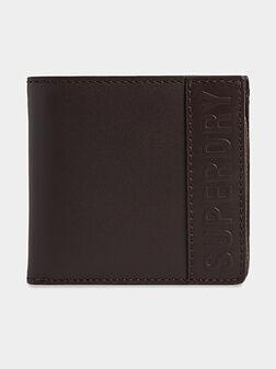 Кожен портфейл VERMONT в кафяв цвят - 1