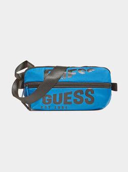 Чанта за кръст ELVIS в син цвят - 1