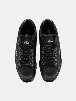 TRAILBLAZER L Black sneakers with chunky sole - 5