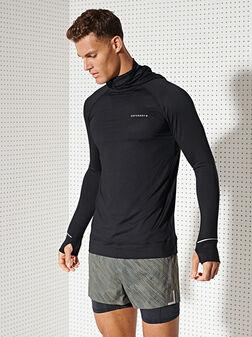 Спортна блуза с дълъг ръкав - 1