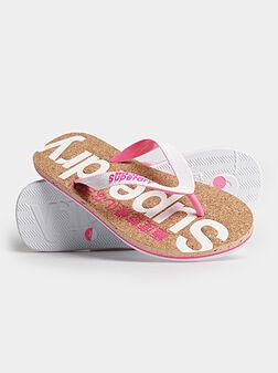 Плажни чехли с лого - 1