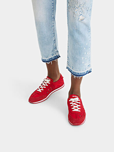 Embroidered sneakers  - 2