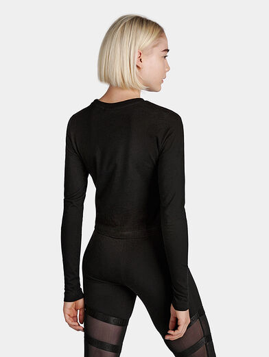 MARCELINE Cropped long sleeve shirt - 3