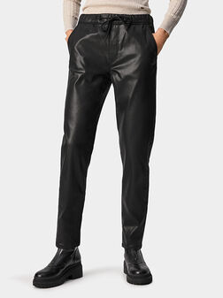 CARA Texture effect trousers - 1