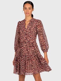 Mini georgette dress - 1