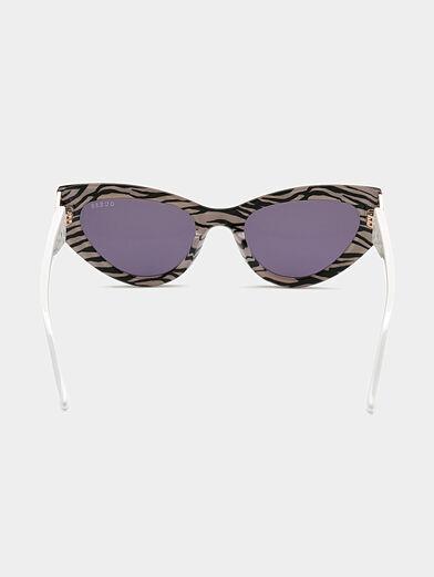 Sun glasses with animal print - 4
