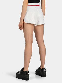 KIKU Shorts with sequins - 5