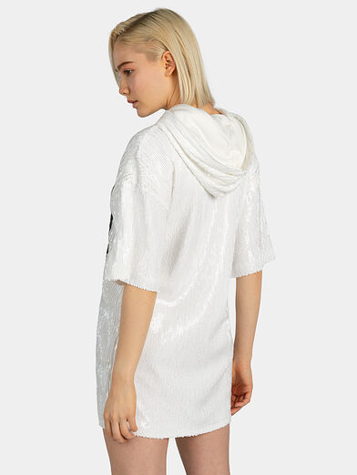MARI Dress with sequins - 3