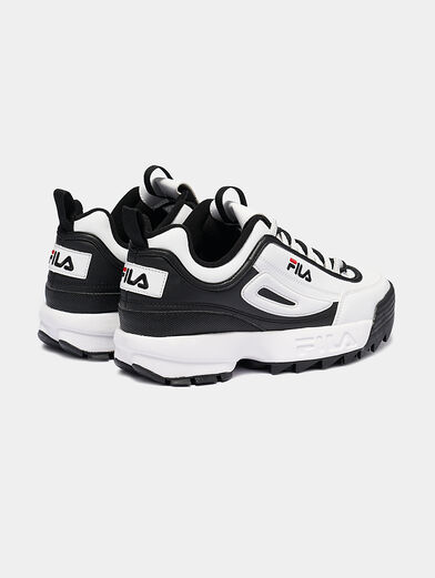 DISRUPTOR CB LOW Black and white runners - 3