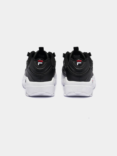 D-FORMATION Black sneakers - 4