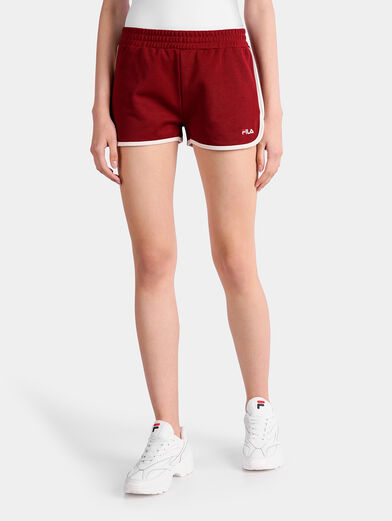 PAIGE JERSEY Shorts in red - 1